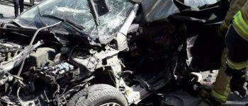 یک نفر جان داد ، تصادف برابر پمپ بنزین «ولنجک»